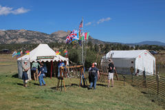 Longs Peak Scottish Irish Highland Festival Royalty Free Stock Photo