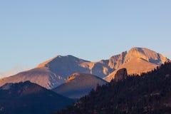 Longs Peak Sunrise Stock Images