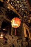 Longshan寺庙在台湾 图库摄影