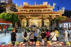 Longshan świątynia obraz stock