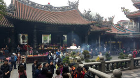 Longshan świątynia Obrazy Stock