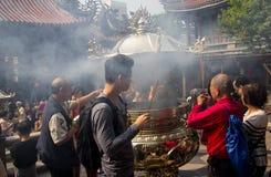 Longshan świątynia Fotografia Royalty Free