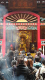 Longshan Temple Immagine Stock