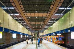 Longshan Temple Station Royalty Free Stock Photos