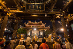 Longshan Temple Taipei, Taiwan Royalty Free Stock Images