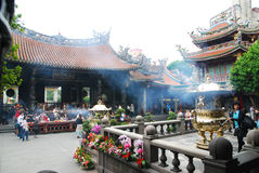 Longshan temple Stock Photos