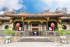 Longshan Temple in Taipei, Taiwan Stock Images