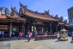Longshan Temple, Taipei, Taiwan Stock Photography