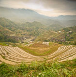 Longsheng paddy fields in China Royalty Free Stock Images