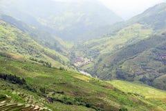 Longsheng Rice Terrace,Guilin Royalty Free Stock Photo