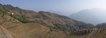 Longsheng rice terraces guangxi province Stock Photo