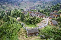 Longsheng Village Stock Photos