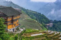 Longsheng Village Royalty Free Stock Images