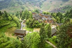 Longsheng Village Royalty Free Stock Images