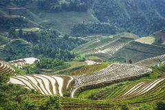 Longsheng Village Stock Image