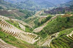 Longsheng Village Royalty Free Stock Photos