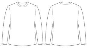 Longsleeves shirt Royalty Free Stock Images