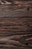 Longstanding brun naturlig träyttersida royaltyfria bilder