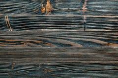 Longstanding träbräde för brun grunge arkivbild
