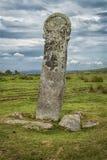 Longstone/длиной Том около миньонов, Корнуолл Великобритания Стоковые Изображения