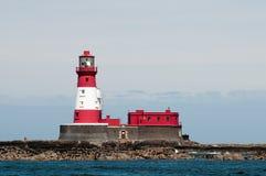 Longstone latarnia morska Zdjęcie Stock
