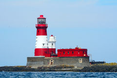 Longstone Lighthouse, Farne Islands Nature Reserve, England Royalty Free Stock Image