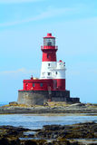 Longstone Lighthouse, Farne Islands Nature Reserve, England Royalty Free Stock Photos