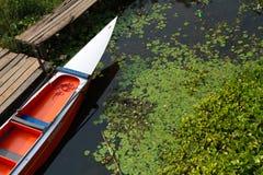Longtail小船 免版税图库摄影
