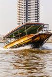 Longtail小船 免版税库存照片