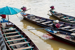Longtail łódź Fotografia Stock