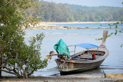 Longtail łódź Zdjęcia Stock