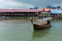 Longtail łódź obrazy royalty free