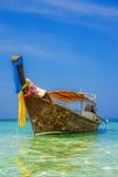 Longtail łódź w Krabi, Tajlandia Obraz Royalty Free