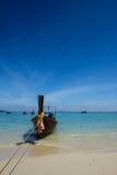 Longtail łódź w Phuket Obraz Royalty Free