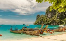 Longtail σε Krabi στοκ εικόνα με δικαίωμα ελεύθερης χρήσης