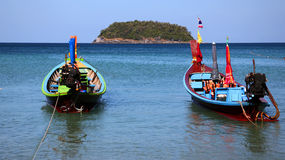 longtail Таиланд шлюпки Стоковое Изображение