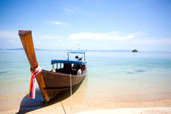 Longtail boat Royalty Free Stock Photography
