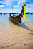 Longtail boat Royalty Free Stock Photo