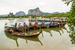 Longtail boat Royalty Free Stock Images