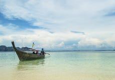 Longtail boat. Longtail near Poda island, Krabi province, Thailand Royalty Free Stock Image