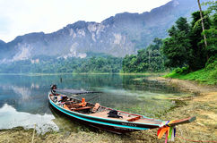 Longtail boat Stock Photos