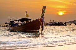 Small boats on sea Royalty Free Stock Image