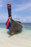 Longtail boat Stock Image