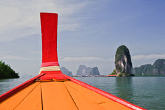 Longtail Boat, Thailand. Stock Photography