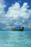 A longtail boat in Thailand. A longtail boat at Koh Lipe island, Thailand Stock Images