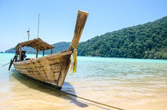 Longtail boat thailand Royalty Free Stock Photo