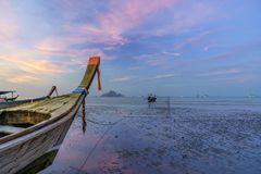 Longtail boat of Thailand Stock Image