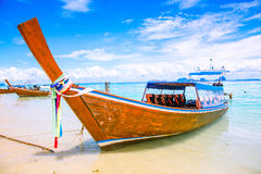 Longtail boat Stock Photography
