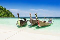 Longtail boats Royalty Free Stock Photos