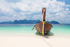 Longtail boats Stock Photography